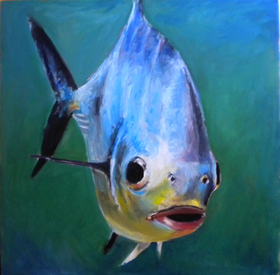 Permit painting by Meredith Reynells